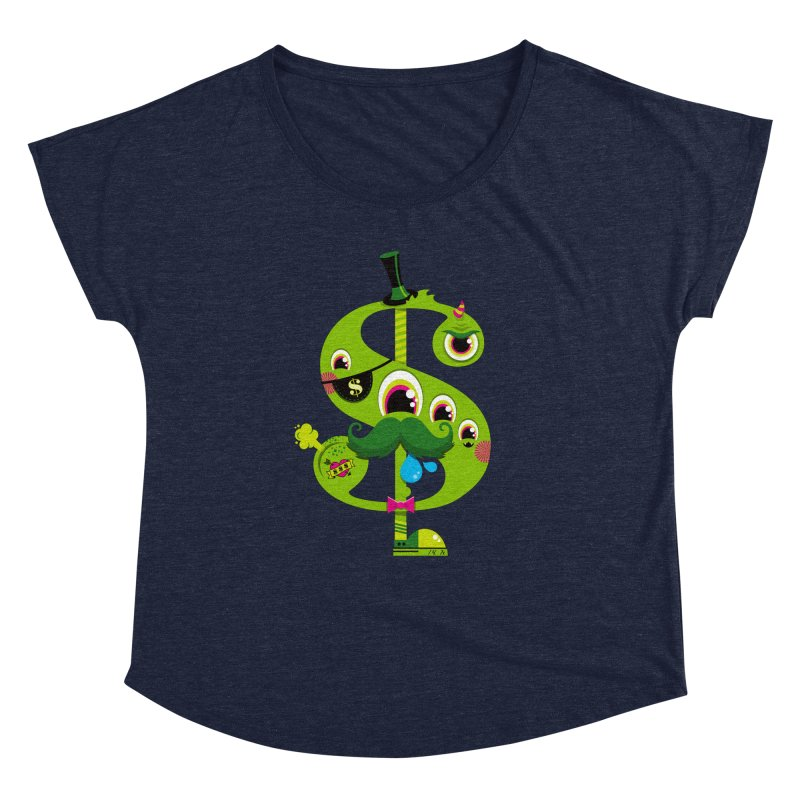 MO' MONEY. NO PROBLEMS Women's Dolman Scoop Neck by theGHOSTHEART's artist shop
