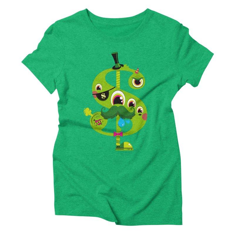 MO' MONEY. NO PROBLEMS Women's Triblend T-Shirt by theGHOSTHEART's artist shop