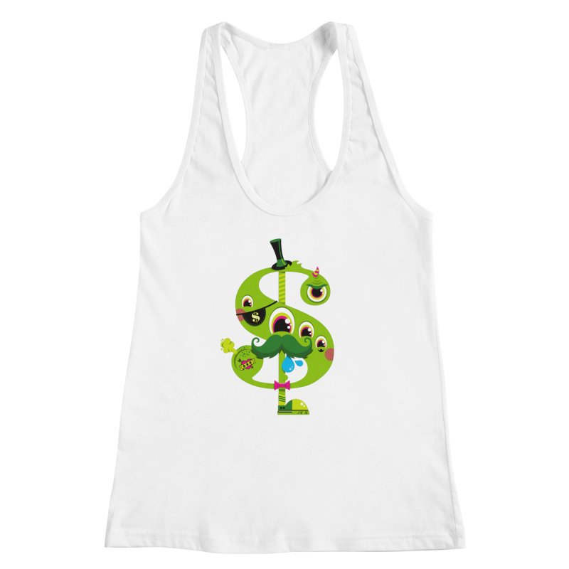 MO' MONEY. NO PROBLEMS Women's Racerback Tank by theGHOSTHEART's artist shop