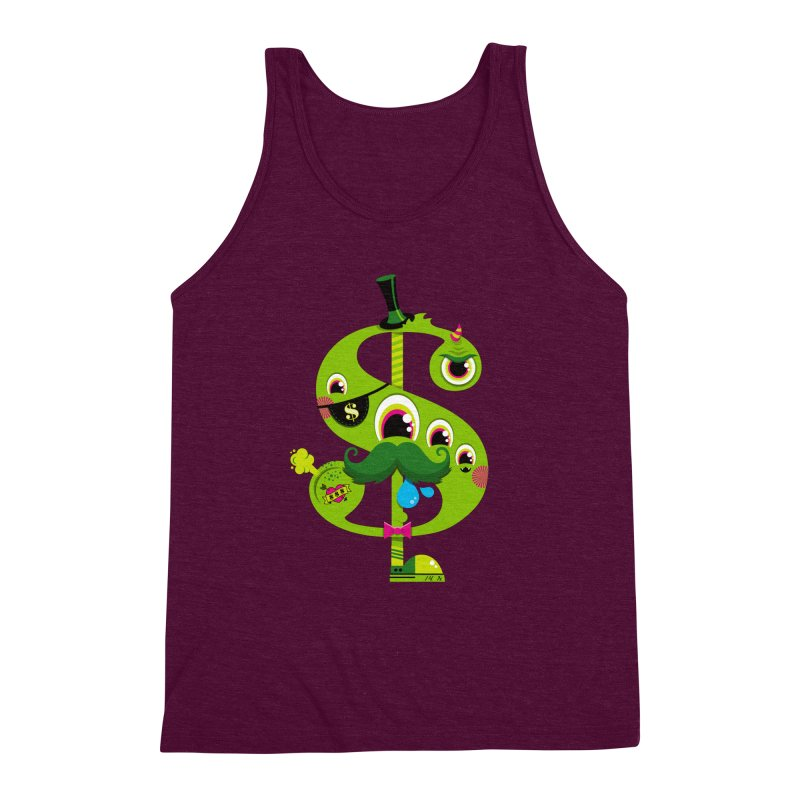 MO' MONEY. NO PROBLEMS Men's Triblend Tank by theGHOSTHEART's artist shop