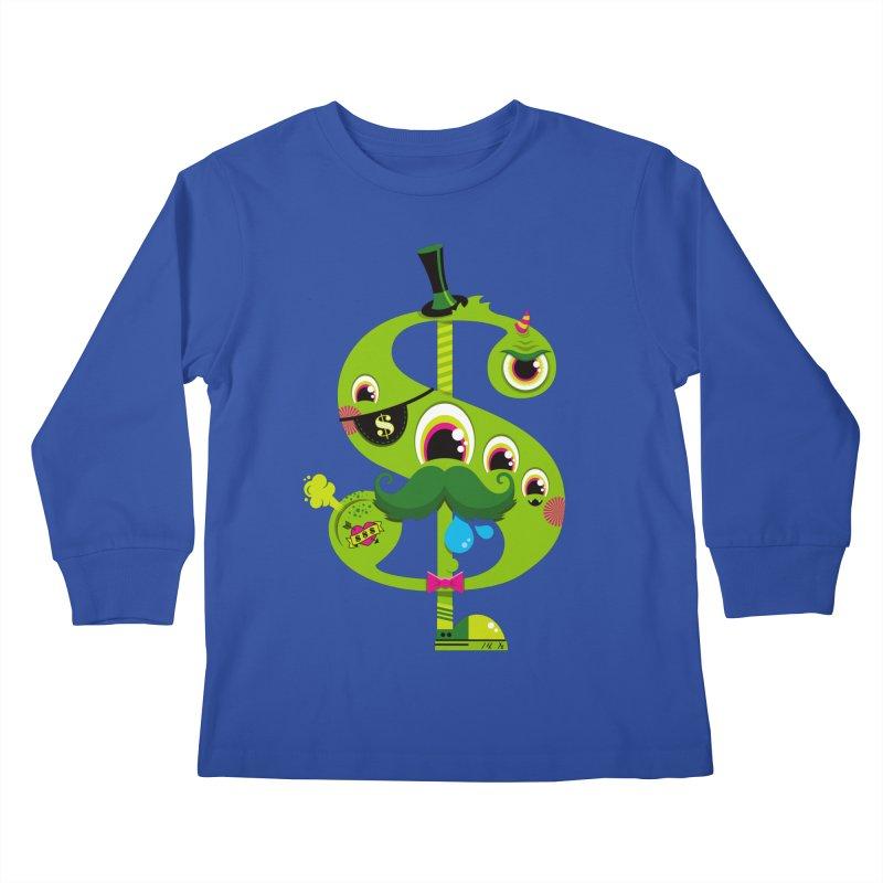 MO' MONEY. NO PROBLEMS Kids Longsleeve T-Shirt by theGHOSTHEART's artist shop