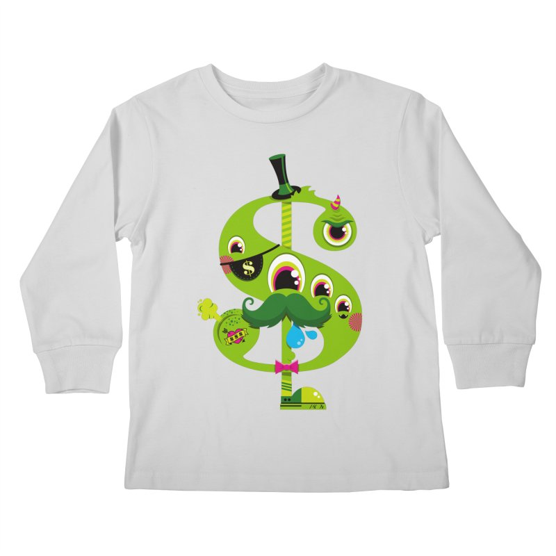 MO' MONEY. NO PROBLEMS Kids Longsleeve T-Shirt by theGHOSTHEART's artist shop