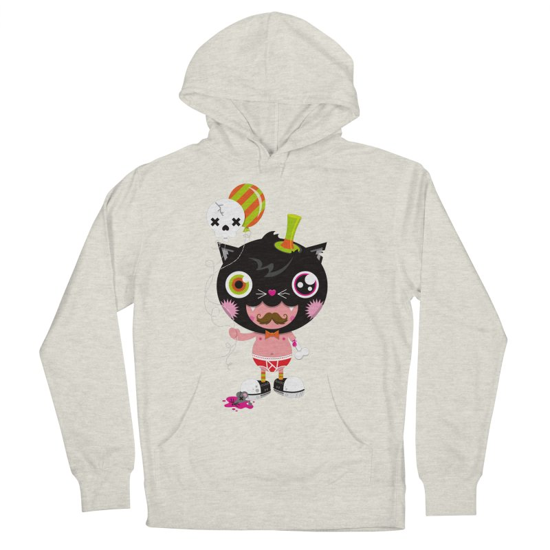 CATURDAY Women's French Terry Pullover Hoody by theGHOSTHEART's artist shop