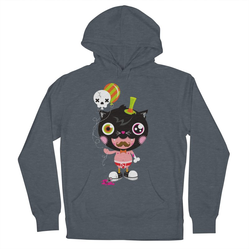 CATURDAY Men's French Terry Pullover Hoody by theGHOSTHEART's artist shop