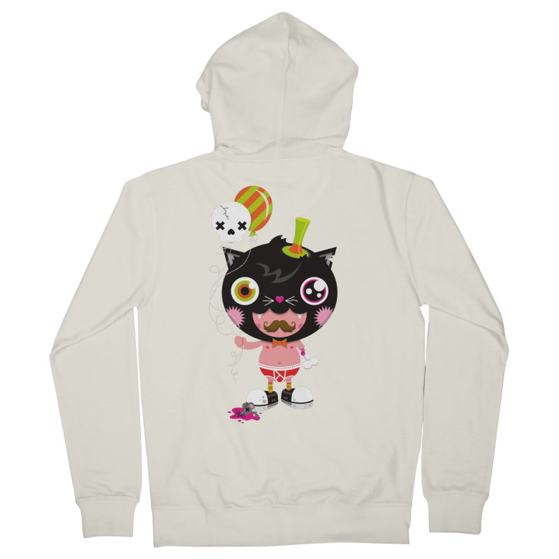CATURDAY Women's French Terry Zip-Up Hoody by theGHOSTHEART's artist shop