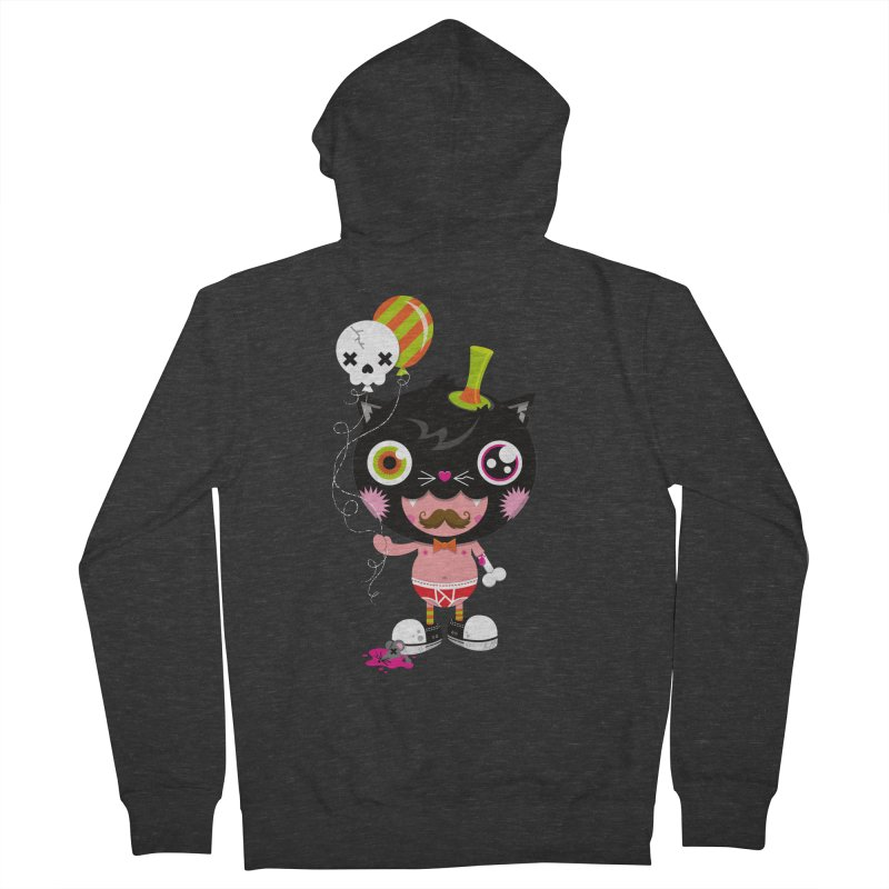 CATURDAY Men's French Terry Zip-Up Hoody by theGHOSTHEART's artist shop