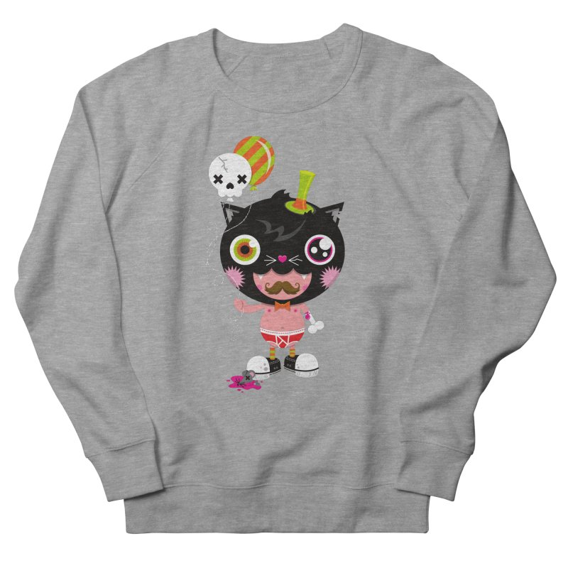 CATURDAY Women's French Terry Sweatshirt by theGHOSTHEART's artist shop