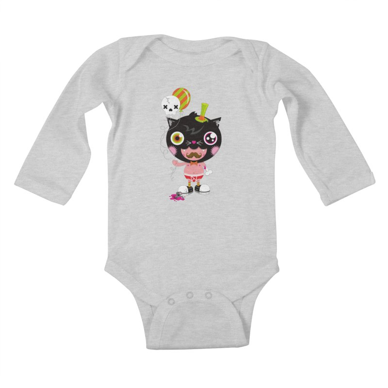 CATURDAY Kids Baby Longsleeve Bodysuit by theGHOSTHEART's artist shop