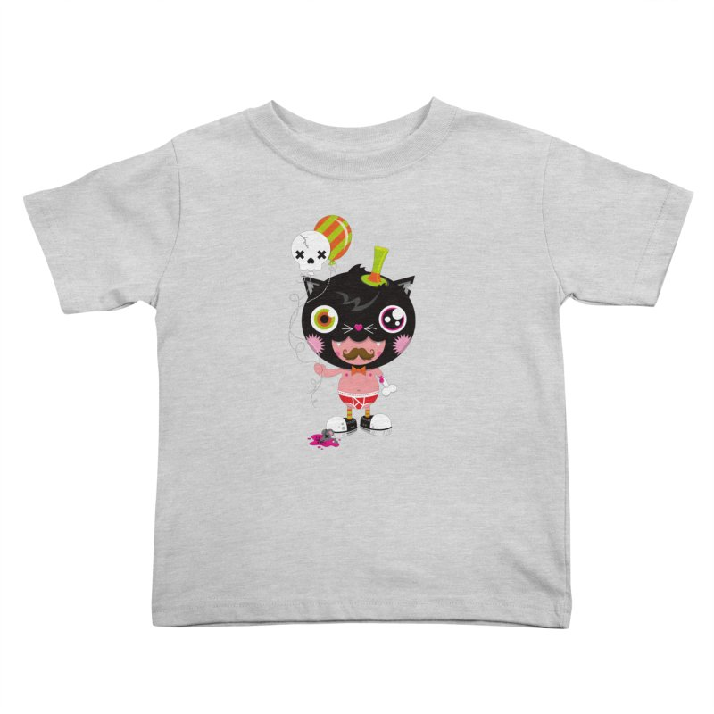CATURDAY Kids Toddler T-Shirt by theGHOSTHEART's artist shop