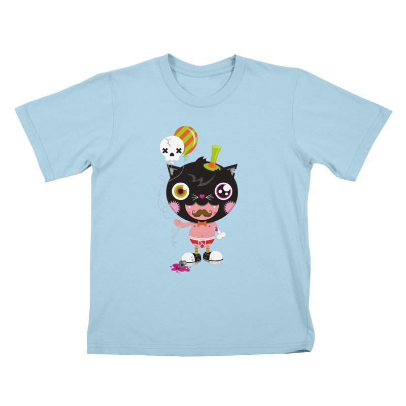 CATURDAY Kids T-Shirt by theGHOSTHEART's artist shop