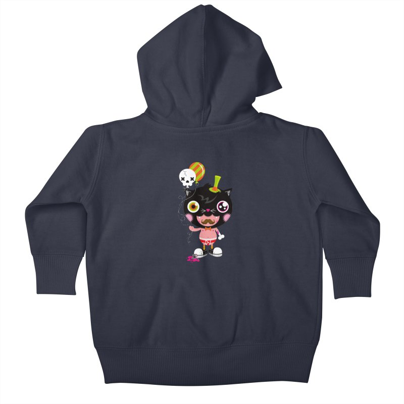 CATURDAY Kids Baby Zip-Up Hoody by theGHOSTHEART's artist shop