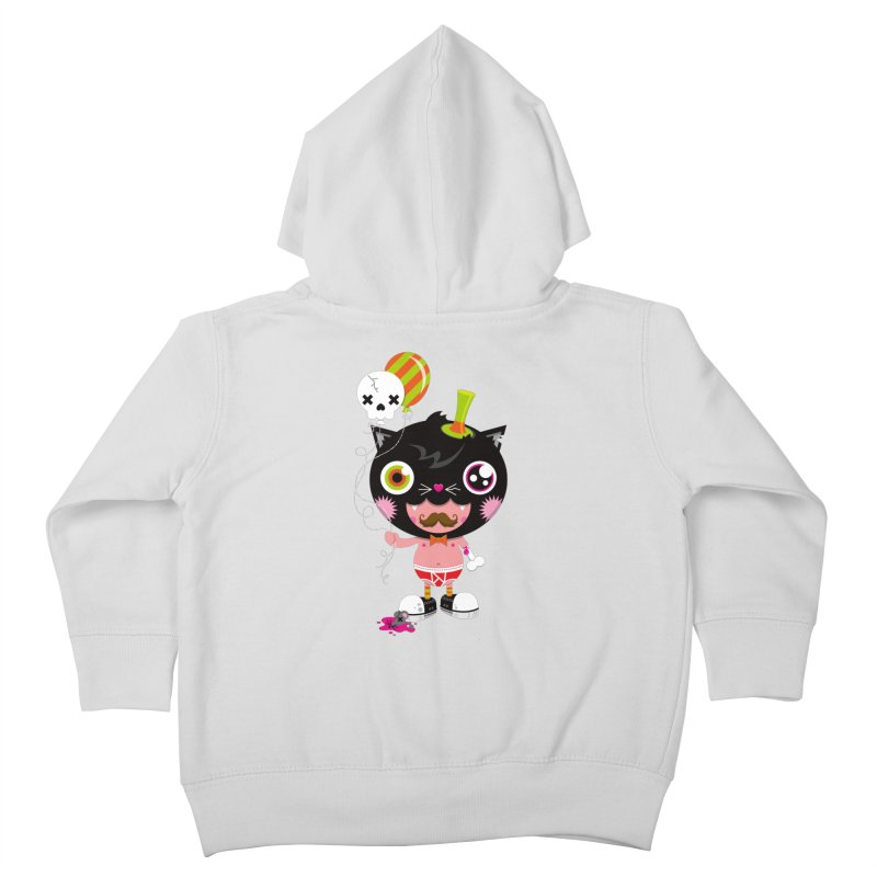 CATURDAY Kids Toddler Zip-Up Hoody by theGHOSTHEART's artist shop