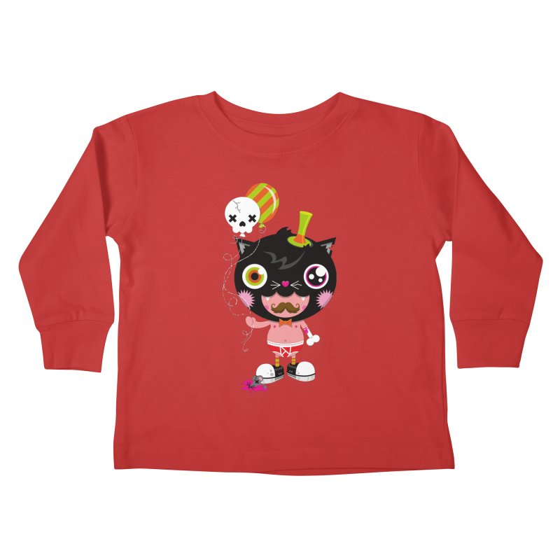 CATURDAY Kids Toddler Longsleeve T-Shirt by theGHOSTHEART's artist shop