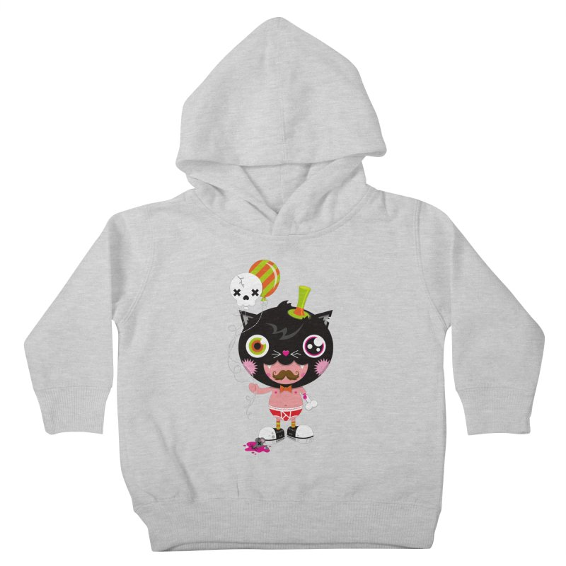 CATURDAY Kids Toddler Pullover Hoody by theGHOSTHEART's artist shop