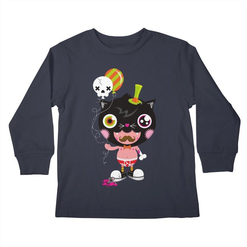 CATURDAY Kids Longsleeve T-Shirt by theGHOSTHEART's artist shop