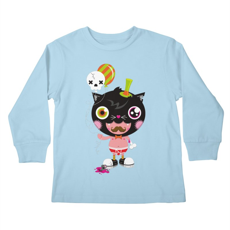 CATURDAY Kids Longsleeve T-Shirt by theGHOSTHEART's artist shop