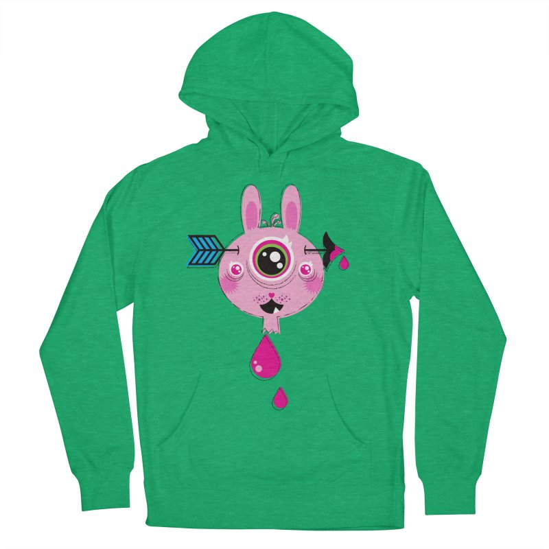 UNLUCKY Women's French Terry Pullover Hoody by theGHOSTHEART's artist shop