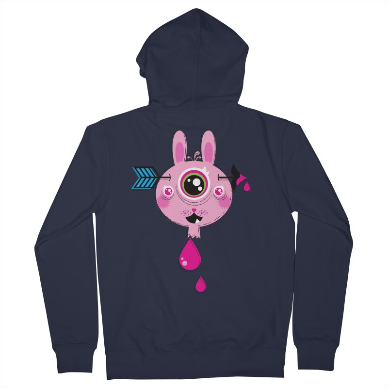 UNLUCKY Women's French Terry Zip-Up Hoody by theGHOSTHEART's artist shop