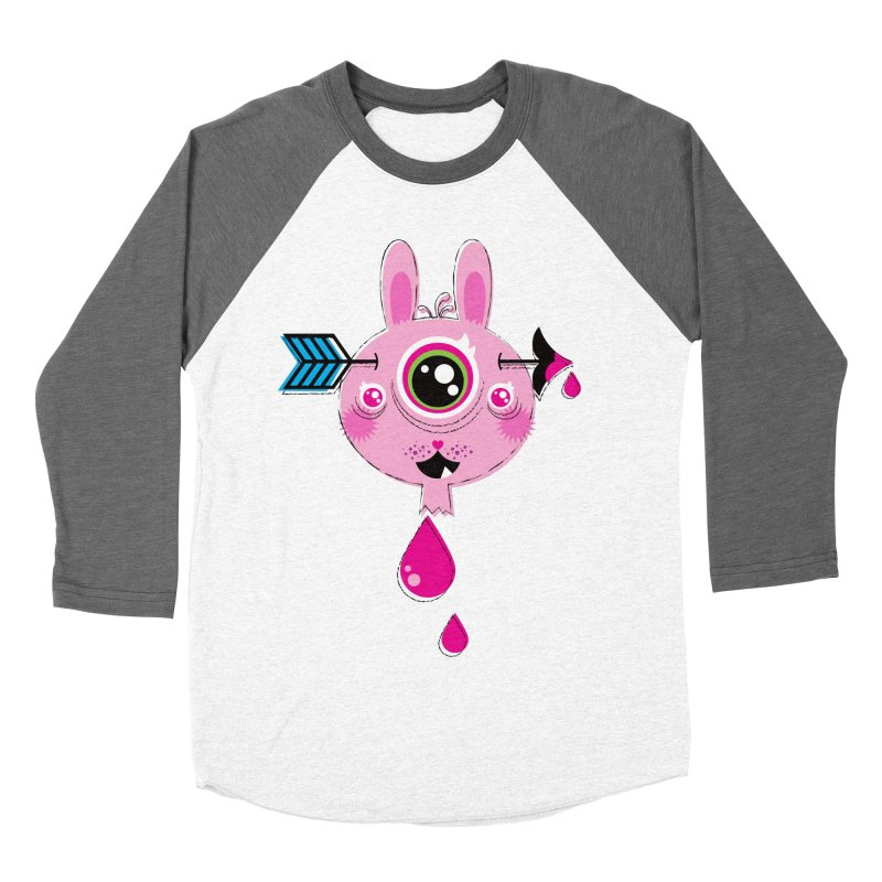 UNLUCKY Women's Baseball Triblend Longsleeve T-Shirt by theGHOSTHEART's artist shop