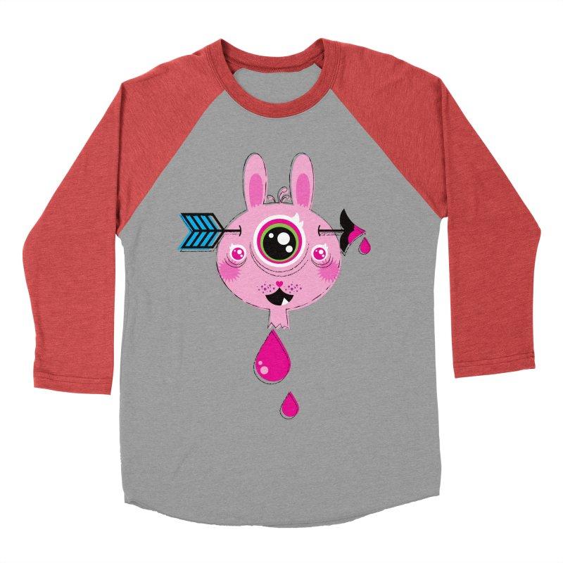 UNLUCKY Men's Baseball Triblend Longsleeve T-Shirt by theGHOSTHEART's artist shop