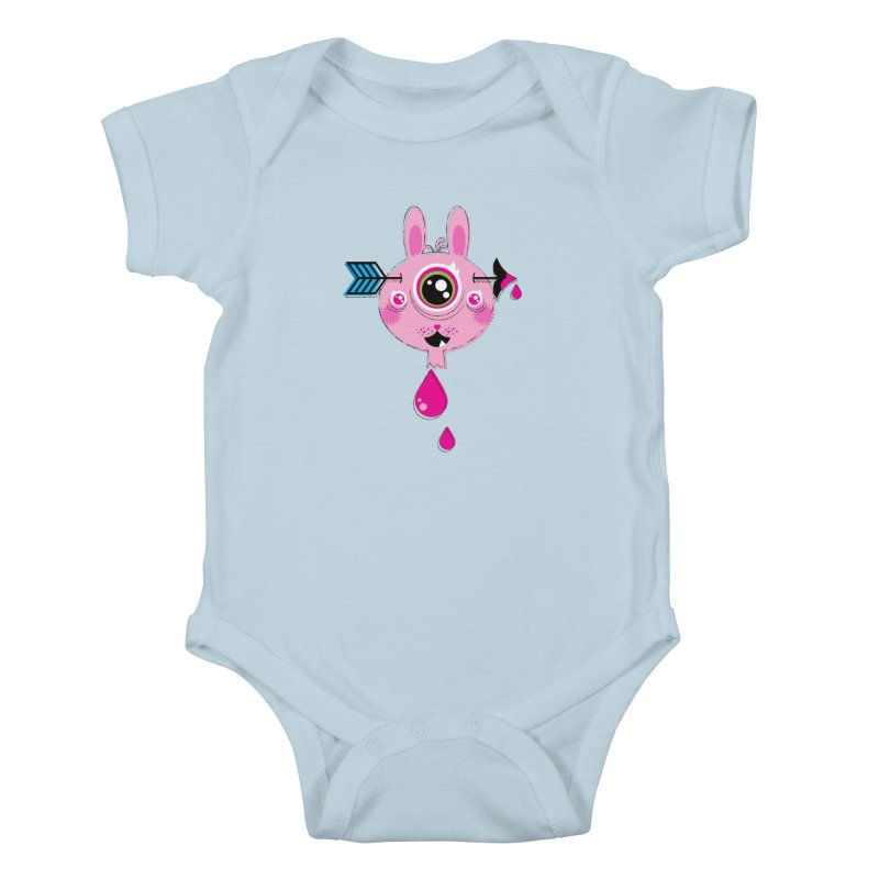 UNLUCKY Kids Baby Bodysuit by theGHOSTHEART's artist shop
