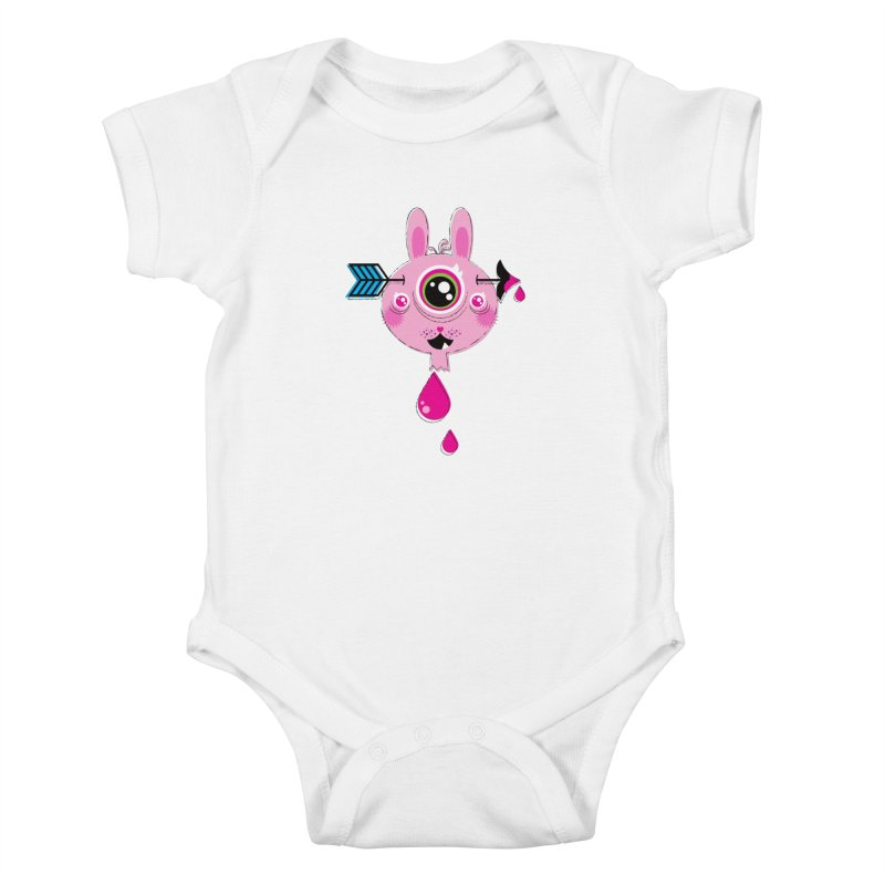 UNLUCKY Kids Baby Bodysuit by theGHOSTHEART's artist shop