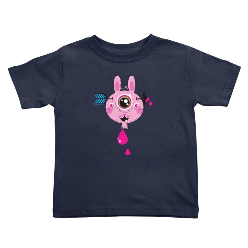 UNLUCKY Kids Toddler T-Shirt by theGHOSTHEART's artist shop