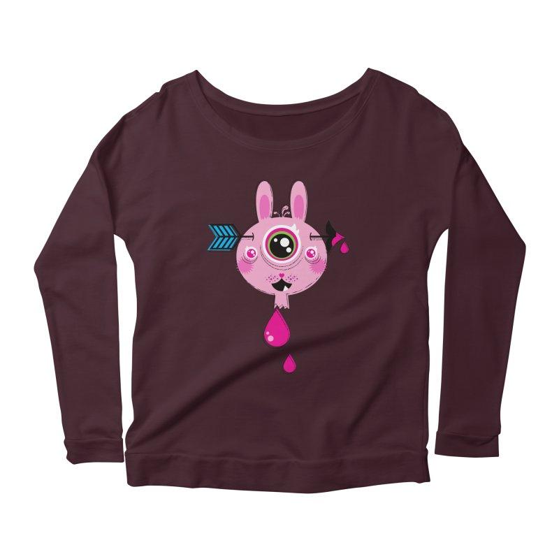 UNLUCKY Women's Scoop Neck Longsleeve T-Shirt by theGHOSTHEART's artist shop