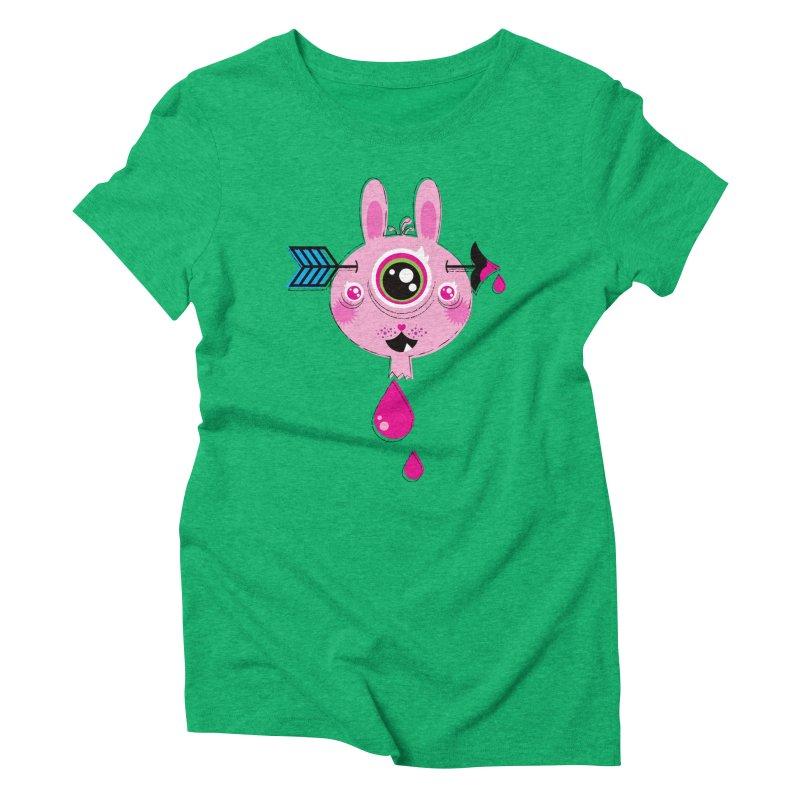 UNLUCKY Women's Triblend T-Shirt by theGHOSTHEART's artist shop