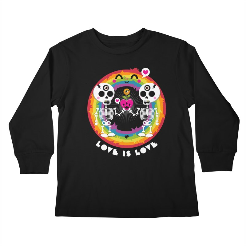 LOVE IS LOVE Kids Longsleeve T-Shirt by theGHOSTHEART's artist shop