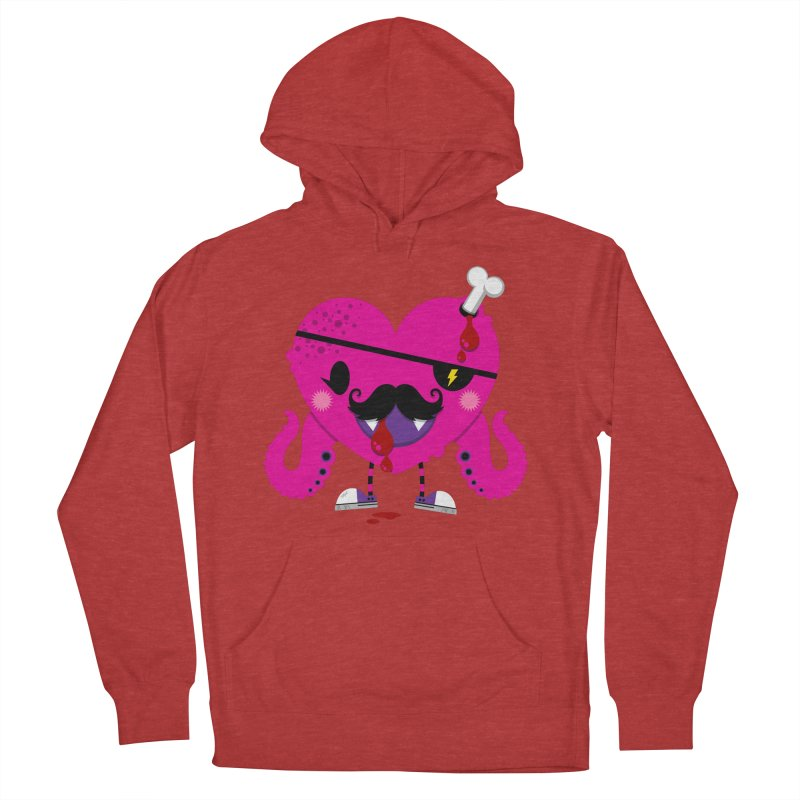 I HEART YOU! Women's French Terry Pullover Hoody by theGHOSTHEART's artist shop