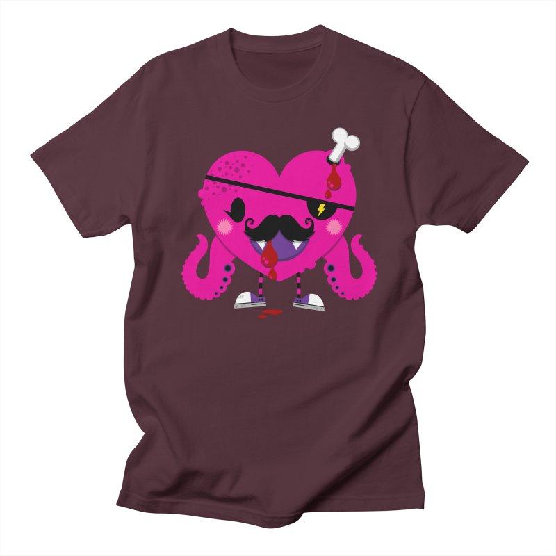 I HEART YOU! Men's Regular T-Shirt by theGHOSTHEART's artist shop