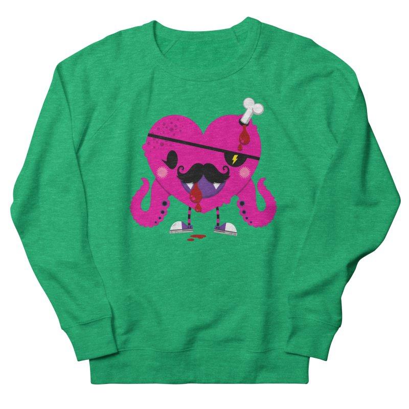 I HEART YOU! Women's French Terry Sweatshirt by theGHOSTHEART's artist shop