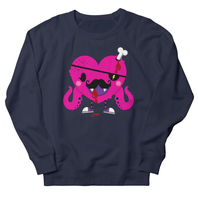 I HEART YOU! Women's French Terry Sweatshirt by theGHOSTHEART's artist shop