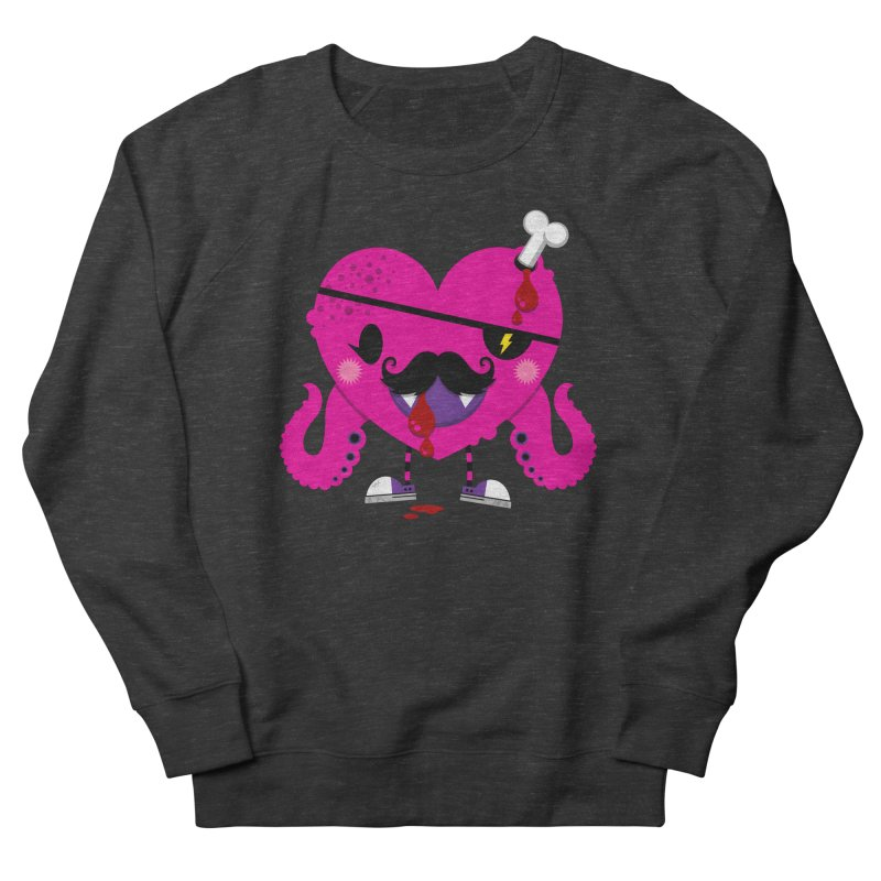 I HEART YOU! Men's French Terry Sweatshirt by theGHOSTHEART's artist shop