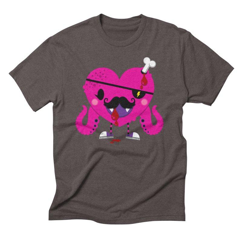I HEART YOU! Men's Triblend T-Shirt by theGHOSTHEART's artist shop
