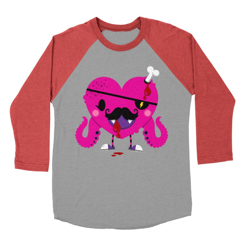 I HEART YOU! Women's Baseball Triblend Longsleeve T-Shirt by theGHOSTHEART's artist shop