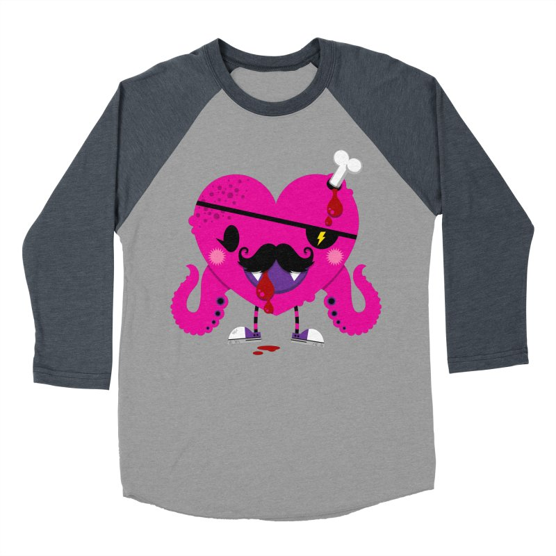 I HEART YOU! Men's Baseball Triblend Longsleeve T-Shirt by theGHOSTHEART's artist shop
