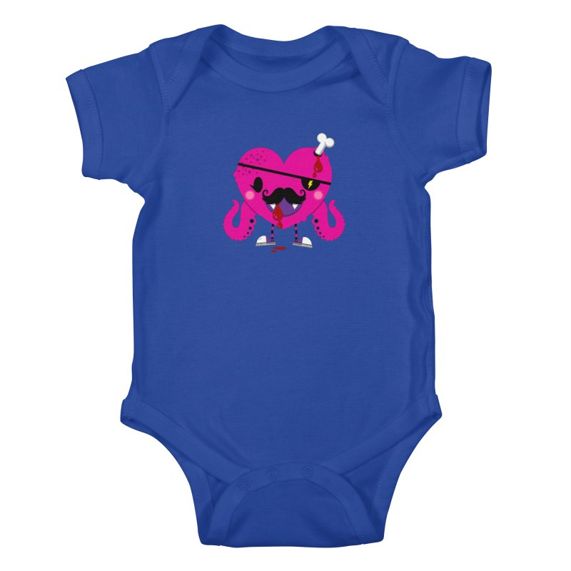I HEART YOU! Kids Baby Bodysuit by theGHOSTHEART's artist shop