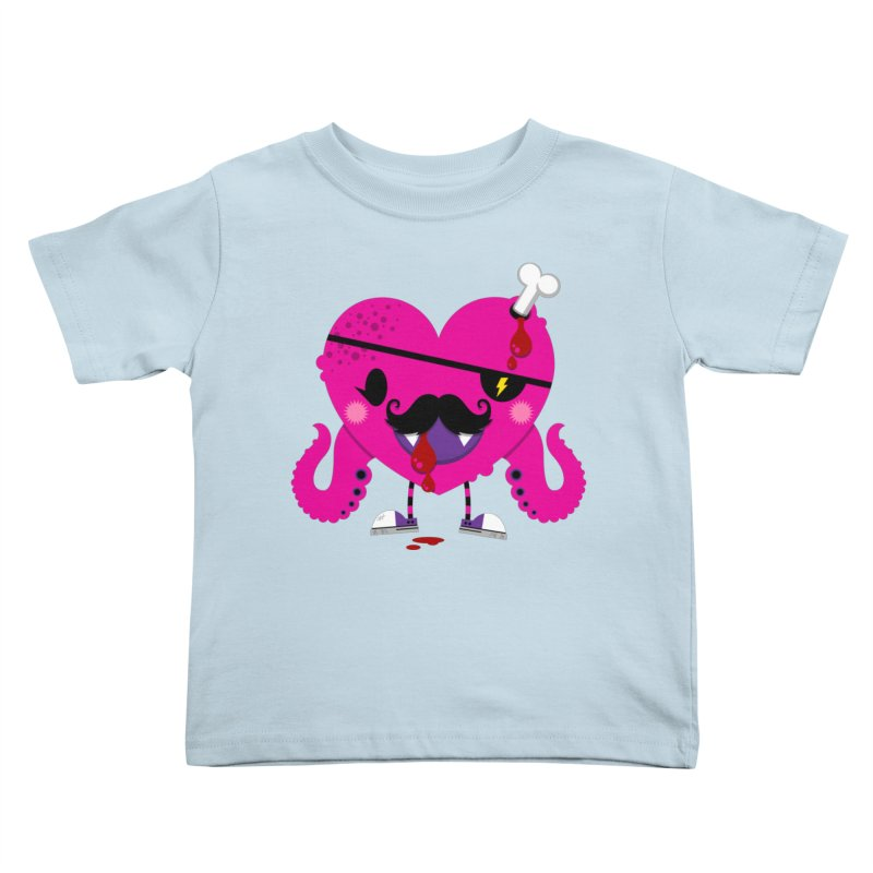 I HEART YOU! Kids Toddler T-Shirt by theGHOSTHEART's artist shop