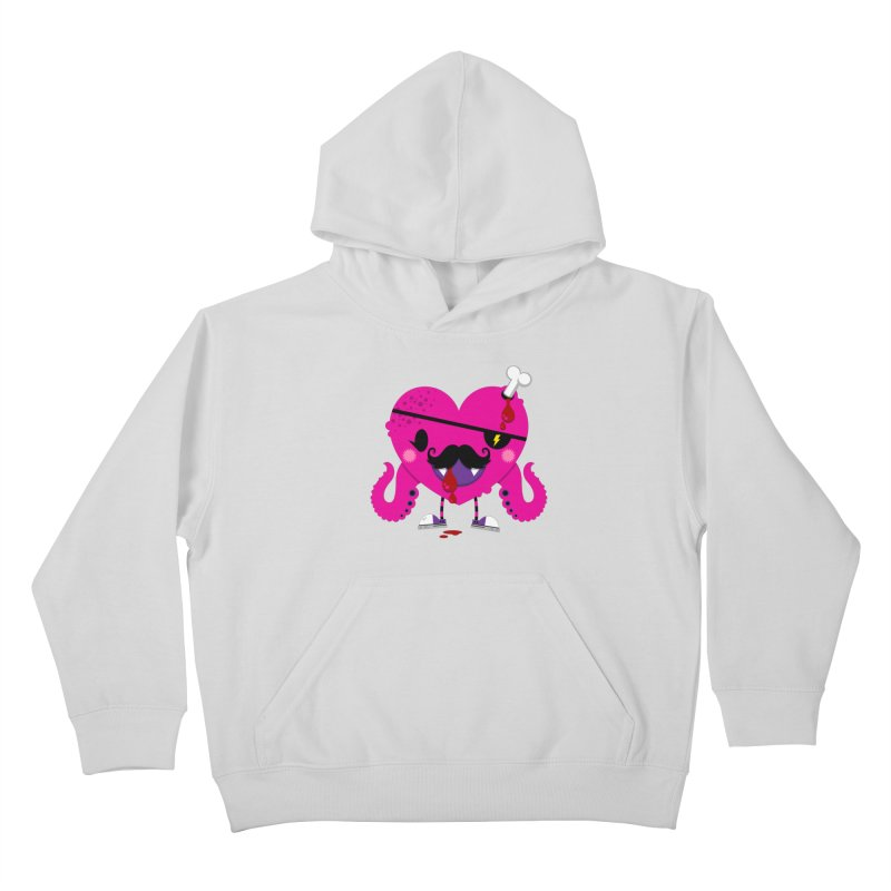 I HEART YOU! Kids Pullover Hoody by theGHOSTHEART's artist shop