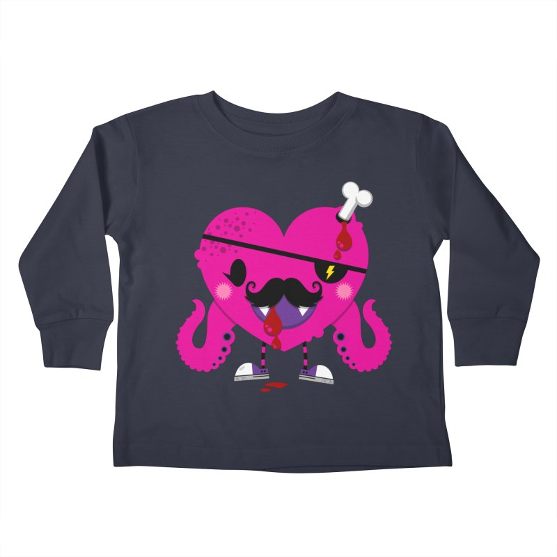 I HEART YOU! Kids Toddler Longsleeve T-Shirt by theGHOSTHEART's artist shop