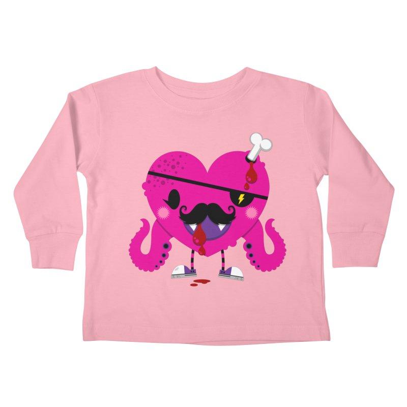 I HEART YOU! Kids Toddler Longsleeve T-Shirt by theGHOSTHEART's artist shop