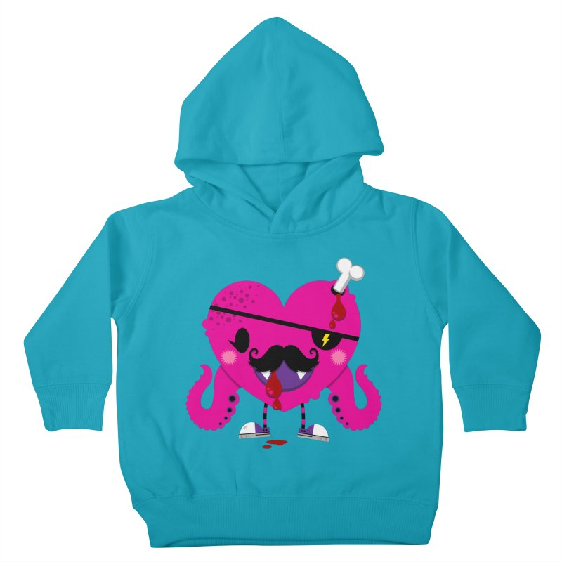 I HEART YOU! Kids Toddler Pullover Hoody by theGHOSTHEART's artist shop
