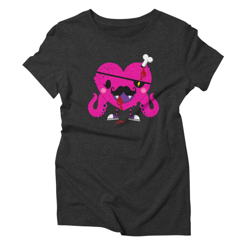 I HEART YOU! Women's Triblend T-Shirt by theGHOSTHEART's artist shop