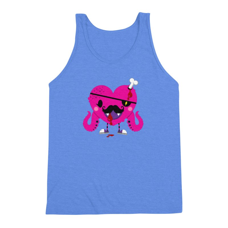 I HEART YOU! Men's Triblend Tank by theGHOSTHEART's artist shop