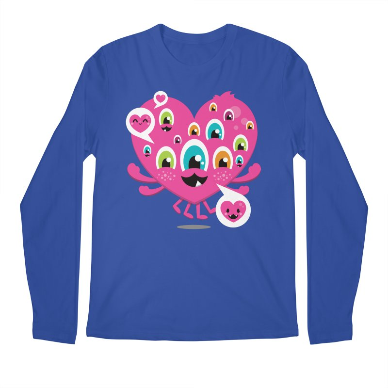 SEE AND SAY Men's Regular Longsleeve T-Shirt by theGHOSTHEART's artist shop