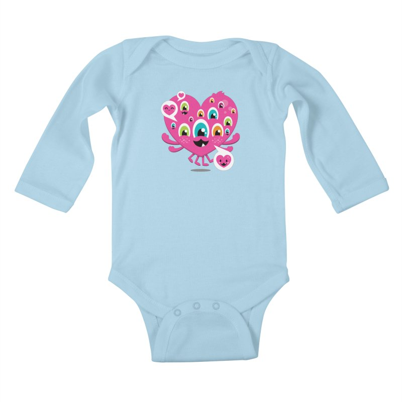 SEE AND SAY Kids Baby Longsleeve Bodysuit by theGHOSTHEART's artist shop