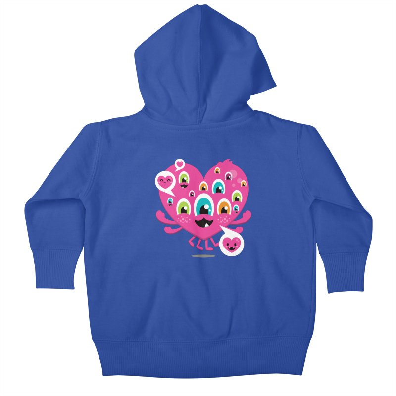 SEE AND SAY Kids Baby Zip-Up Hoody by theGHOSTHEART's artist shop