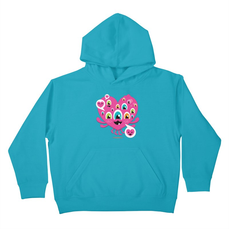 SEE AND SAY Kids Pullover Hoody by theGHOSTHEART's artist shop